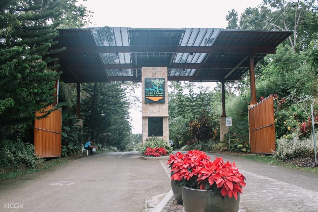 cebu safari entrance gate